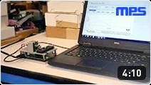 High accuracy, ultra-fast, angular position sensor